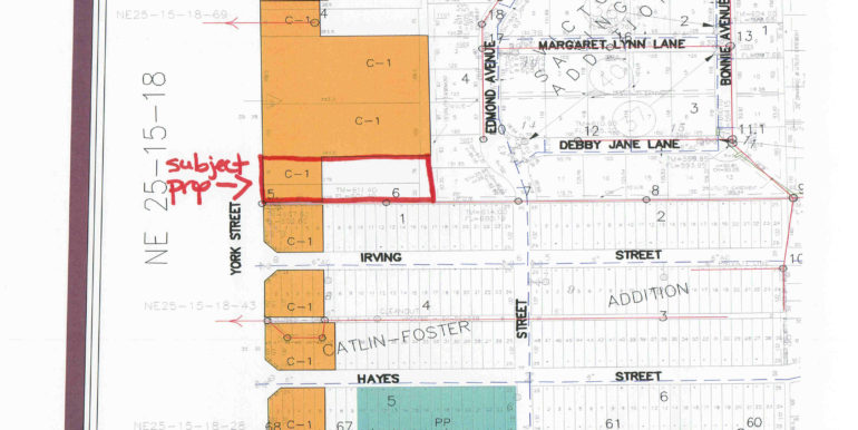 922 N York St zoning map